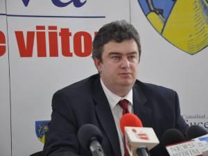 Președintele Consiliului Județean Suceava, Ioan Cătălin Nechifor