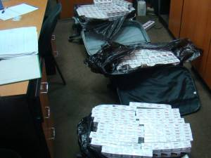 Ţigările, în valoare de 2.440 de lei, au fost ridicate în vederea confiscării