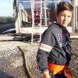 Alex, fiul în vârstă de 12 ani al preotului