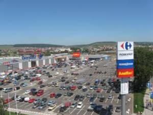 Parcarea Shopping City, unde va avea loc Târgul Alimenta Tradiţional