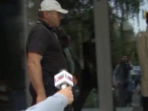 Agresorul identificat de poliţie, Vasile Puiu Hriţuc, în vârstă de 45 de ani