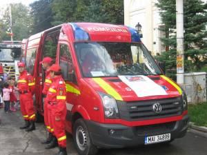 Ambulanţa SMURD tip C va deveni operaţionala de marţea viitoare, deocamdată doar 12 ore pe zi
