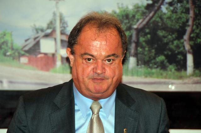 Liderul PDL, Vasile Blaga, a fost prezent ieri la Gura Humorului