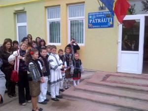 Inaugurarea grădiniței din comuna Pătrăuți