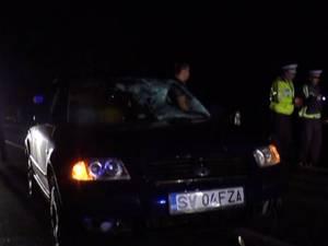 Şoferul în vârstă de 19 ani nu a mai putut evita tragedia