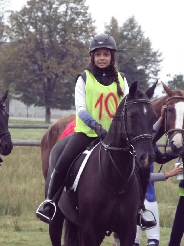 Ioana Băişanu, unul dintre cei mai tineri concurenţi