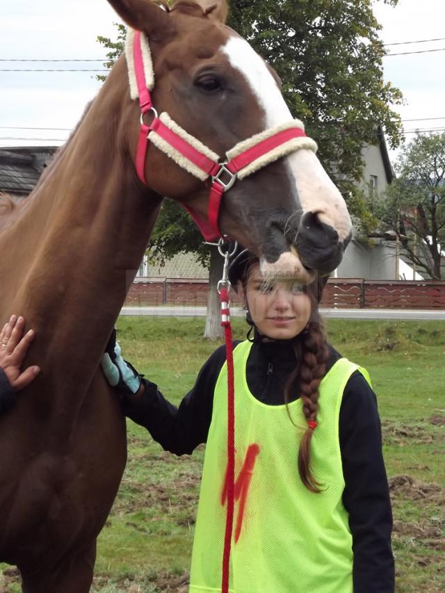 Naomi Latiş a descoperit pasiunea călăriei anul trecut