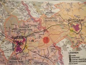 Planul proiectului de dezvoltare policentrică Suceava - Botoşani