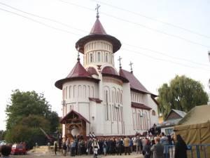"""Întâlnirea a avut loc în contextul sfinţirii Bisericii Militare """"Sf. Ierarh Iosif cel Nou de la Partoş"""""""