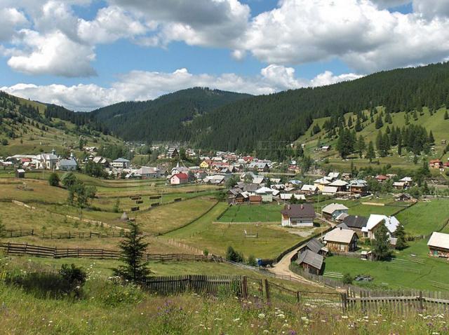 Comuna Cârlibaba, între cele mai frumoase sate din România