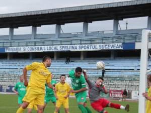 Sporting a câştigat derbiul cu Bucovina Rădăuţi