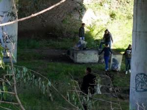 Peste 500 de elevi au făcut curăţenie în Fălticeni