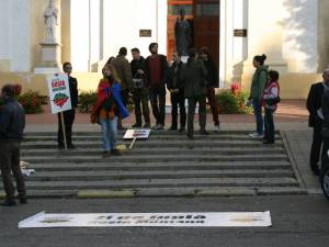 Roşia Montană strânge tot mai puţini protestatari la Suceava