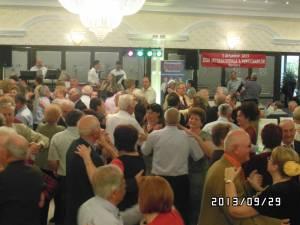 În jur de 190 de suceveni au participat, duminică, la petrecerea organizată de Casa de Ajutor Reciproc a Pensionarilor
