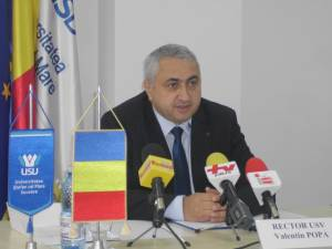 Prof. univ. dr. ing. Valentin Popa, rectorul USV