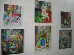 """Expoziţia de pictură """"Vibraţia culorilor"""""""