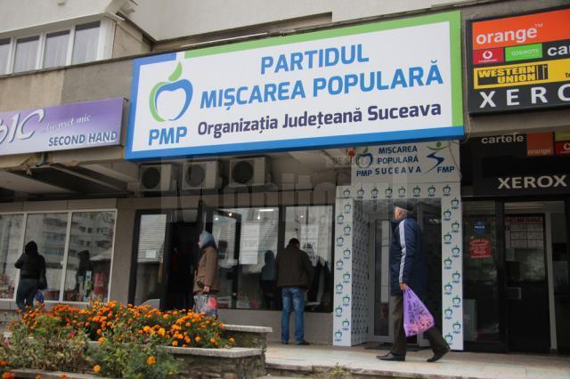 Ieri a fost inaugurat sediul Partidului Mişcarea Populară Suceava