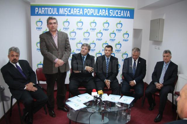 Liderii naţionali ai PMB au fost prezenţi, la Suceava, la inaugurarea sediului partidului