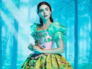 Lily Collins, noua imagine a brandului Lancôme