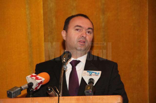 Preşedintele PNL al CJ Iaşi, Cristian Adomniţei