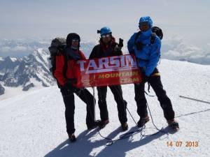 Mont Blanc, o provocare pe care trei suceveni au reuşit s-o învingă