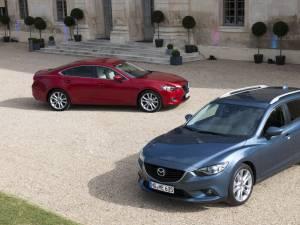 Noua Mazda6 redefinește clasa medie prin design și tehnologie