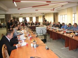 Şedinţa de majorare a preţului de producere a gigacaloriei a fost anulată