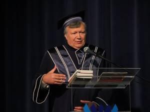 """Alexandru Mironov a primit titlul de Doctor Honoris Causa al Universităţii """"Ştefan cel Mare"""""""