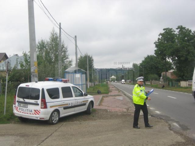 Cu ocazia controlului efectuat de Serviciul Rutier Suceava s-au aplicat 19 sancţiuni