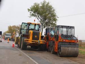 Drumul naţional DN 29, care leagă Suceava de Botoşani, a intrat, oficial în reabilitare