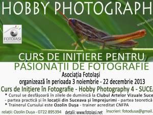 Curs de inițiere pentru pasionații de fotografie din Suceava