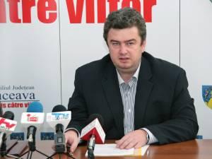 """Cătălin Nechifor: """"S-a semnat contractul de servicii de audit financiar pentru Aeroportul <Ştefan ce Mare>"""""""