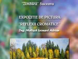Expoziţia de pictură a artistului plastic Leonard Adrian Melisch