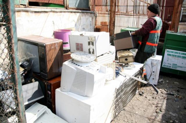 Campanie de colectare a deşeurilor electrice şi electronice
