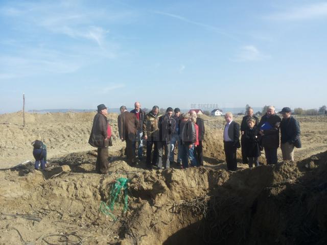 Până în prezent au fost identificate două perimetre în care au fost îngropate deşeurile
