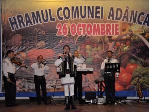 De hramul comunei Adâncata au fost organizate mai multe evenimente, de la lansări de cărţi şi până la spectacole folclorice