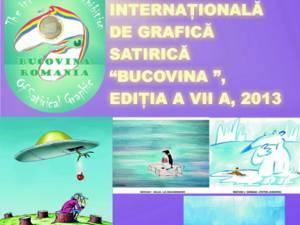 """Expoziţia Internaţională de Grafică Satirică """"Bucovina"""""""