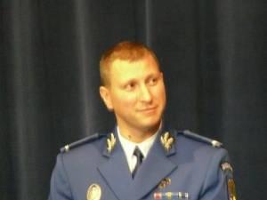 Noul şef al Inspectoratului de Jandarmi Judeţean Suceava, maiorul Mihai Marian Lungu