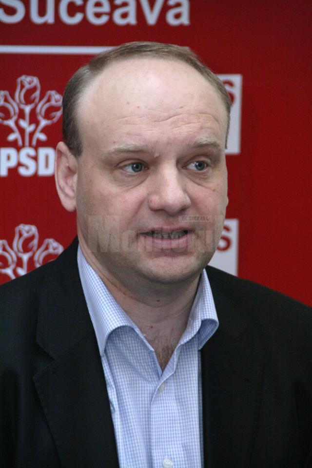 Senatorul PSD de Suceava Ovidiu Donţu