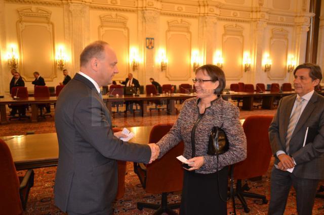 Ovidiu Dontu a avut o întalnire oficială cu ambasadorul Norvegiei în România
