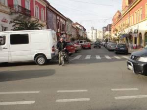 Centrul municipiului Rădăuţi va fi blocat începând de astăzi