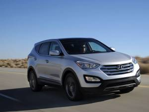 Hyundai lansează o versiune eco-diesel pentru noul Santa Fe