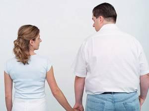 Scăderea în greutate a partenerului de viaţă poate duce la despărţire. Iată de ce!