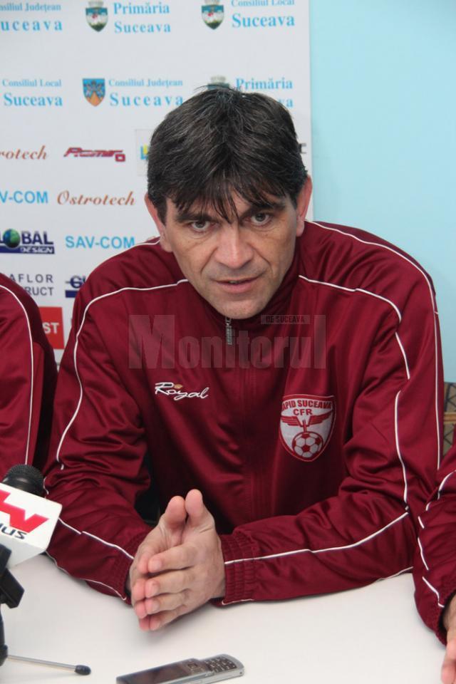 Bogdan Tudoreanu este încrezător că rapidiştii vor face o figură frumoasă la Constanţa