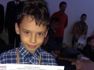 Eduard Pădurariu, un talent nativ la doar 9 ani