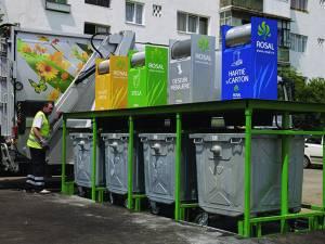 Sistem subteran de colectare a gunoiului