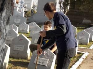 Replică vandalizare morminte Chişinău