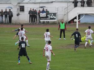 Cele două formaţii rapidiste au oferit un meci frumos în confruntarea de pe stadionul Areni