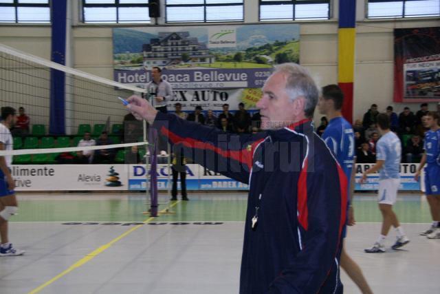Victor Pancu speră ca echipa sa să nu aibă parte de un arbitraj potrivnic