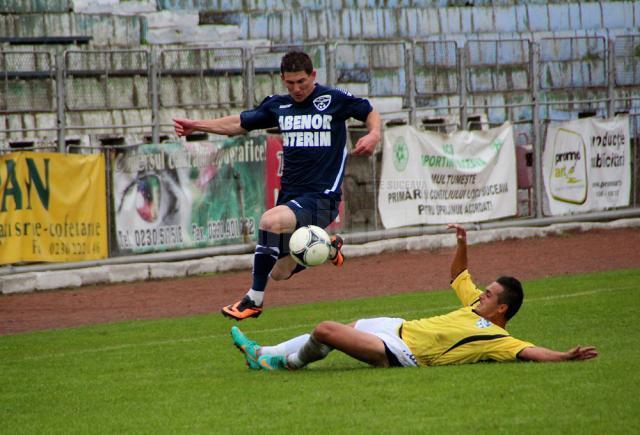 Daniel Bălan, unul dintre cei mai buni jucători ai Rapidului